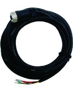 Sensorkabel, 5 m, met M12-connector, open aders, AWG24 (0,2 mm2)