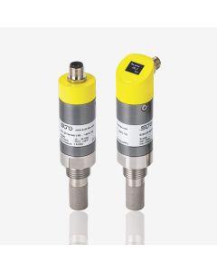S215, 2-draads analoge Dauwpuntsensor, -20...+50°CTd met geïntegreerde druksensor -0,1...1,6 MPa