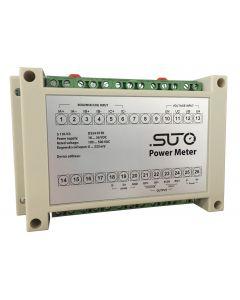 S110 power meter, hat rail, Modbus/RTU
