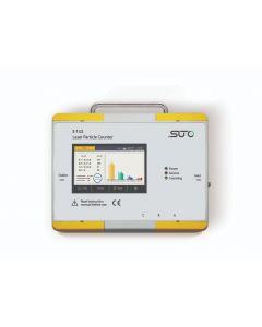 S132 Laser partikelteller incl. display/datalogger (bereik d: 0.1 < d ≤ 5.0 μm) voor perslucht
