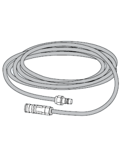 Rechte slangset  e-Safe koppeling/nippel Serie 320